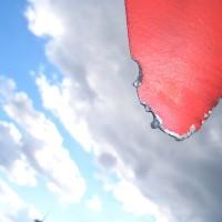 Blitzeingänge Metalltip - kleinere thermische Beschädigungen