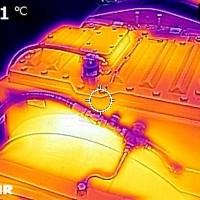 Thermografie - Getriebe