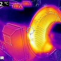 Thermografie - Asynchrongenerator